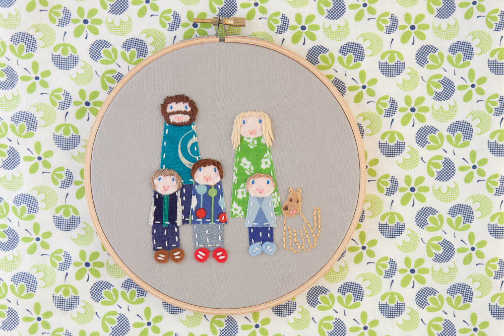 Customised Family Portrait
